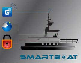 nº 39 pour Illustration Design for SmartBoat par photoshopkiller