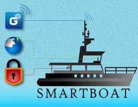 #40 para Illustration Design for SmartBoat de photoshopkiller