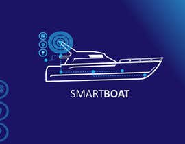 nº 32 pour Illustration Design for SmartBoat par danumdata