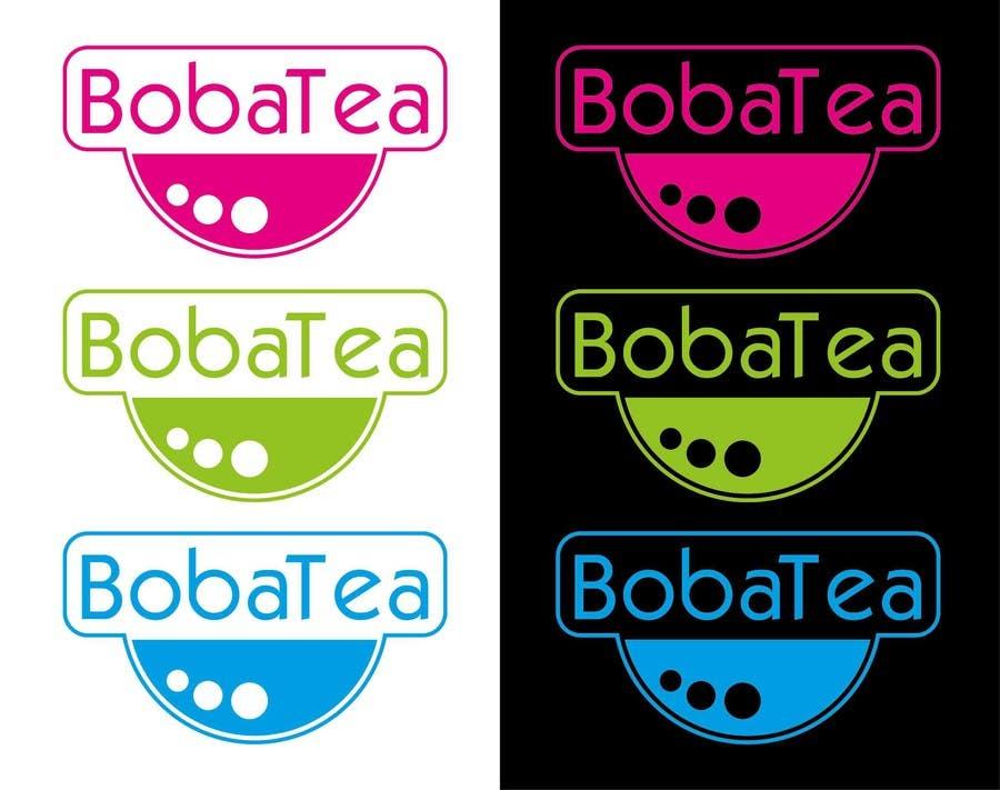 Konkurrenceindlæg #13 for Design a Logo for BobaTea (Bubble Tea Drink Brand)