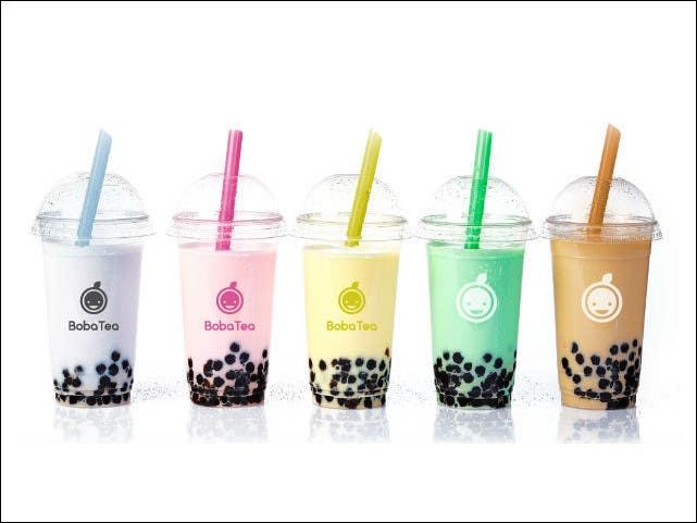 Contest Entry #                                        6                                      for                                         Design a Logo for BobaTea (Bubble Tea Drink Brand)