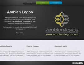 developer2809 tarafından Website for my logo design services. için no 4