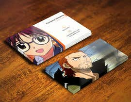 #34 para Design some Business Cards for anime site por youart2012