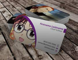 #35 para Design some Business Cards for anime site por youart2012
