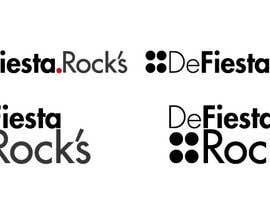 #46 para Diseñar un logotipo para defiesta.rocks por UriDublin