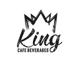 #130 untuk Design a Logo for King Cafe Beverages oleh GirottiGabriel