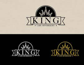 #85 untuk Design a Logo for King Cafe Beverages oleh ngahoang