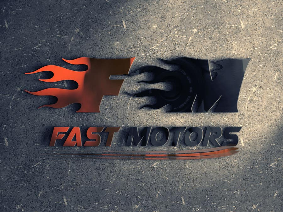Contest Entry #                                        19                                      for                                         Design a Logo for FAST MOTORS