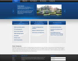 #1 untuk Build a Website for new electrical/electronic contractor oleh tania06