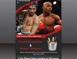 #7 for Boxing event flyer af igraphicdesigner