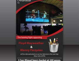 #8 for Boxing event flyer af igraphicdesigner