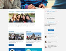 webidea12 tarafından Design a homepage for an educational company için no 1