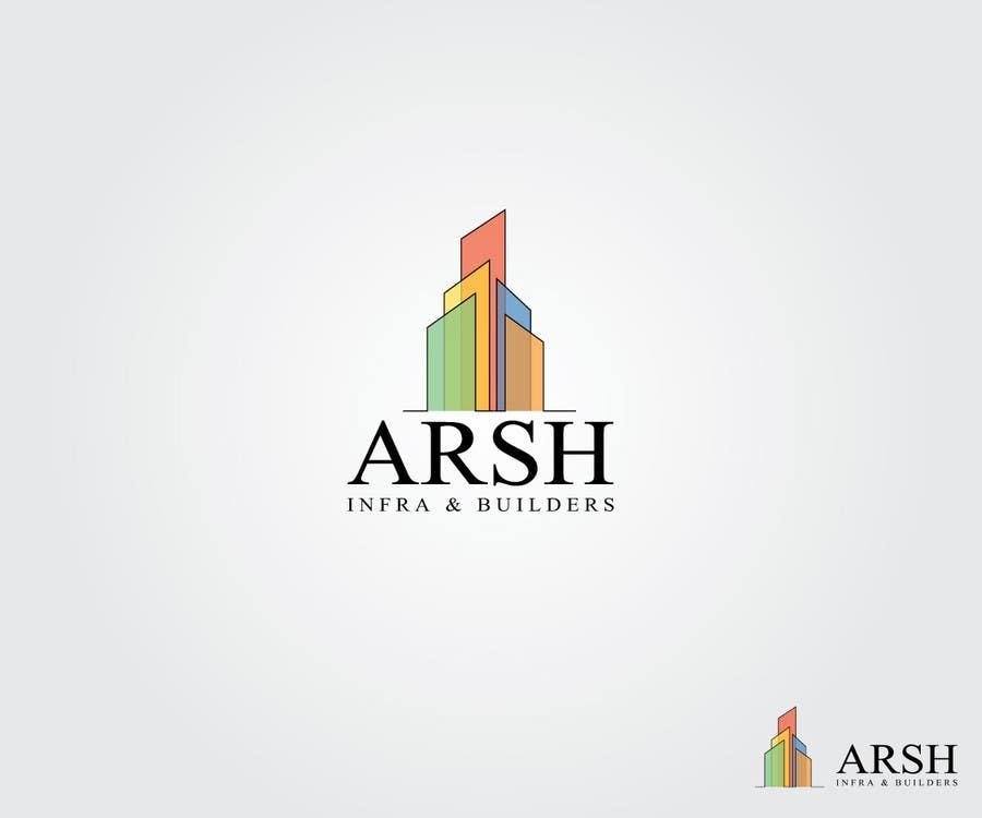 """Inscrição nº 76 do Concurso para Design a Logo for """"Arsh Infra & Builders"""""""