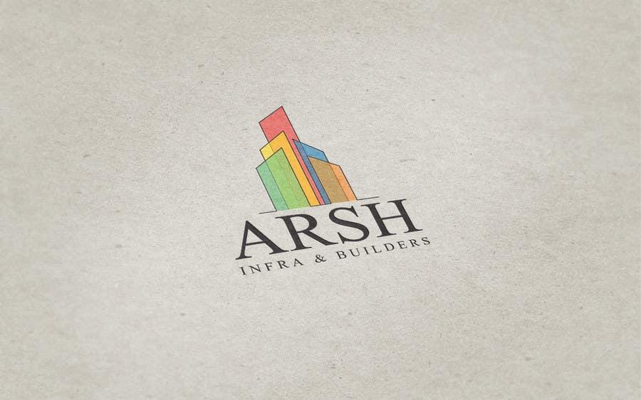 """Konkurrenceindlæg #78 for Design a Logo for """"Arsh Infra & Builders"""""""