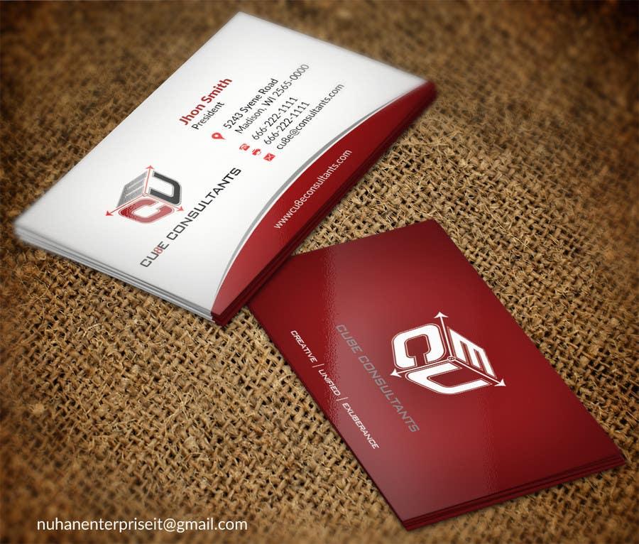 Penyertaan Peraduan #129 untuk Business card design