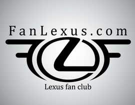 #5 for Design a Logo for Lexus fan club called FanLexus.com af TimNik84