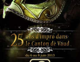 #12 para Design a Flyer for Theater Improv por MadGavin