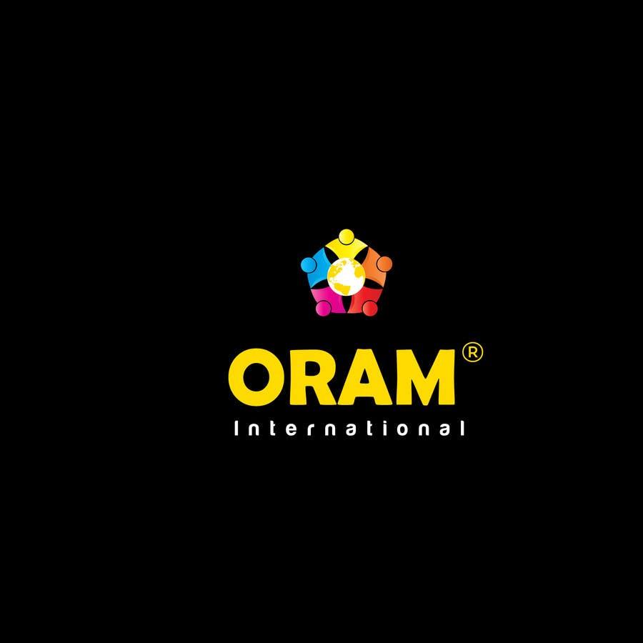 Proposition n°                                        116                                      du concours                                         Design a Logo for ORAM International