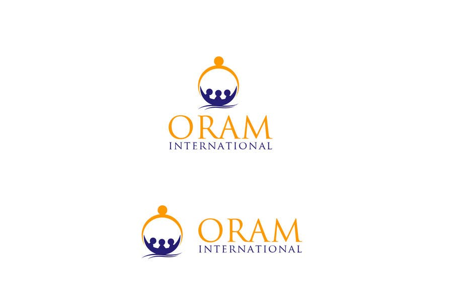 Proposition n°                                        96                                      du concours                                         Design a Logo for ORAM International