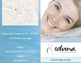 #4 cho Diseño folleto Diptico Consulta Medica de Dermatología bởi mariapaulina
