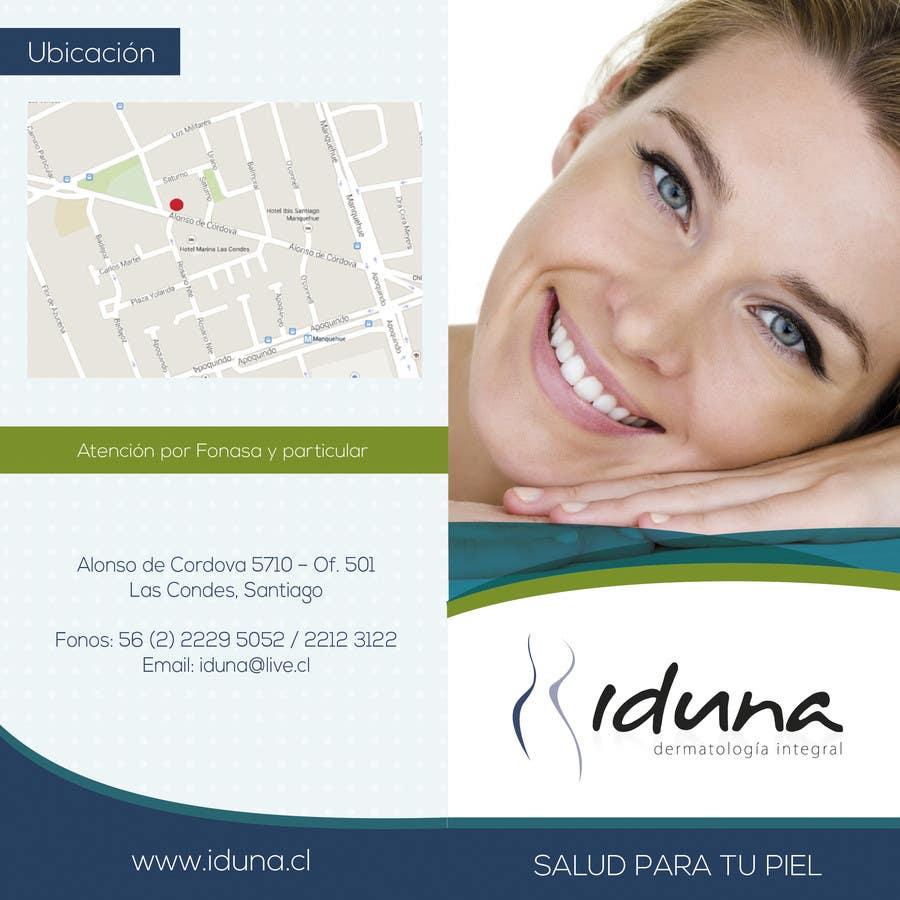 Contest Entry #6 for Diseño folleto Diptico Consulta Medica de Dermatología