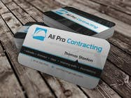 Graphic Design Konkurrenceindlæg #41 for Design some Business Cards for All Pro Contracting