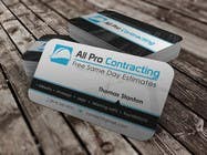 Graphic Design Konkurrenceindlæg #45 for Design some Business Cards for All Pro Contracting