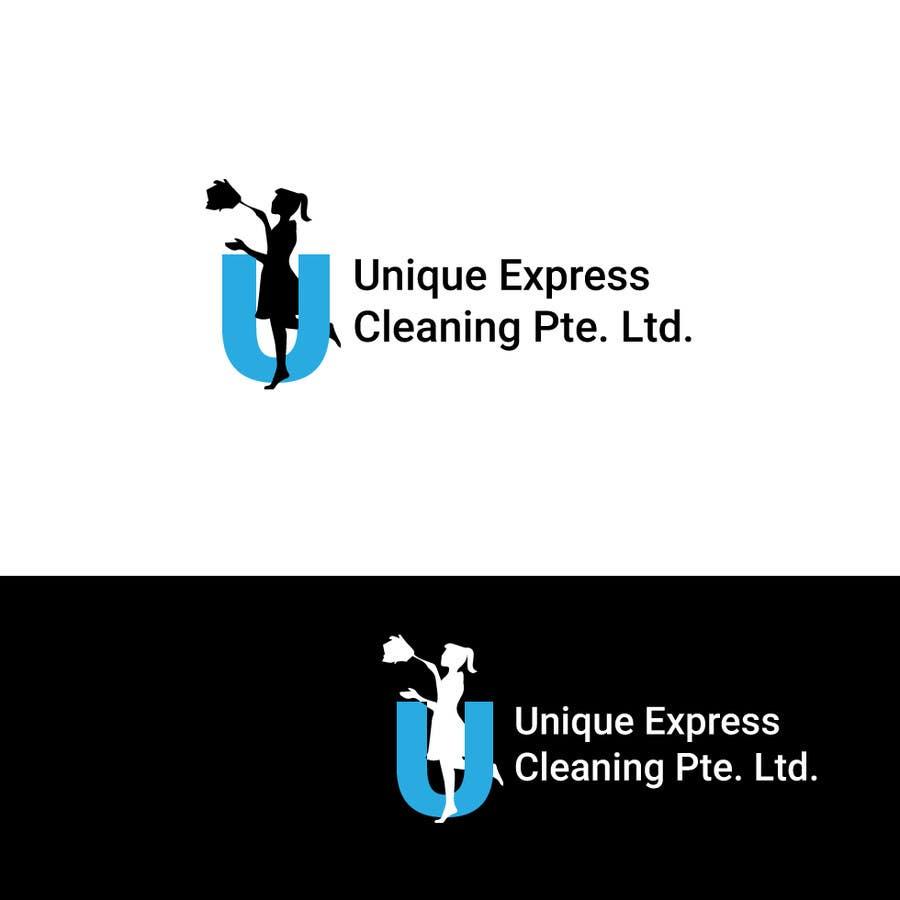 Konkurrenceindlæg #                                        3                                      for                                         Design a Logo for UNIQUE EXPRESS CLEANING PTE. LTD.,
