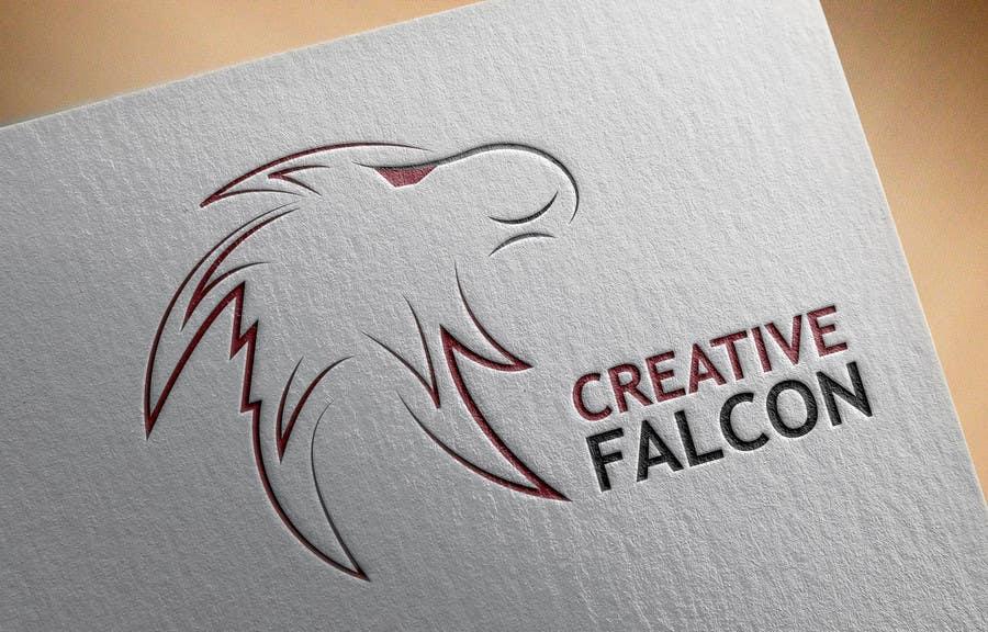 Proposition n°                                        63                                      du concours                                         Design a Logo for Creative Falcon