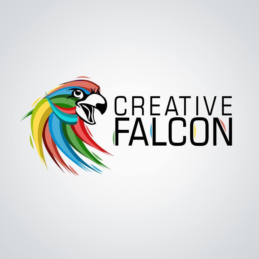 Proposition n°                                        54                                      du concours                                         Design a Logo for Creative Falcon