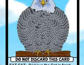 Nro 5 kilpailuun Illustrate Something for a Cat Card Game käyttäjältä antonhramov