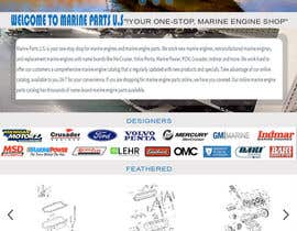 #5 for Design a Website Mockup for Marine Parts U.S. af talhafarooque