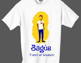 #17 para Illustrate and add in a nice font Bagús T-shirt of Wisdom por sameeyaakhtar567
