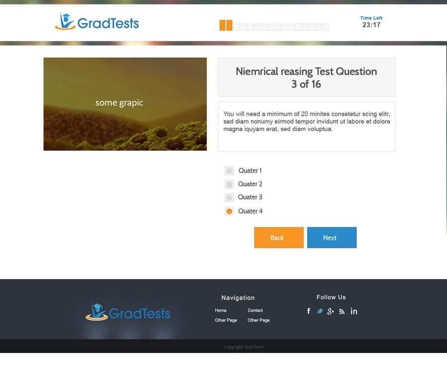Inscrição nº                                         8                                      do Concurso para                                         Design a Website Mockup for Practice IQ Test Business