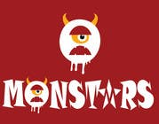 Illustrate Something for Monsters için Graphic Design40 No.lu Yarışma Girdisi
