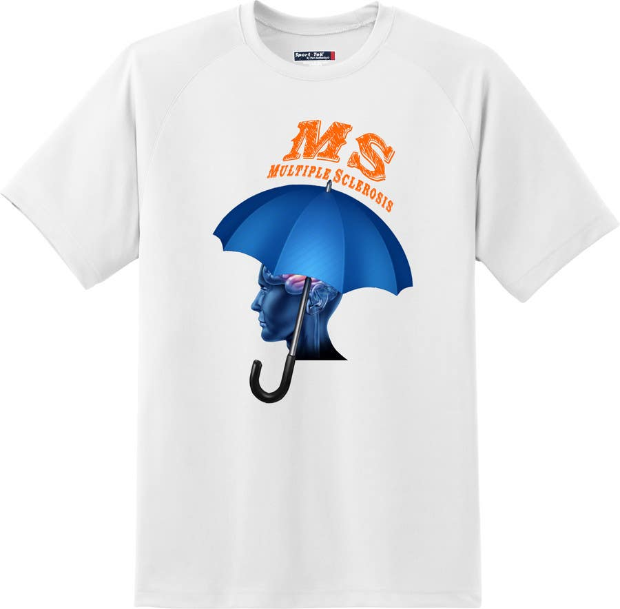 Contest Entry #                                        4                                      for                                         Design a T-Shirt for MS Awareness