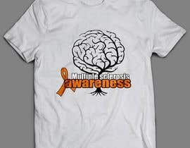#7 para Design a T-Shirt for MS Awareness por sandrasreckovic