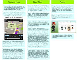 #22 untuk Create a concept for a game for runners (for smartphones) oleh Chrissikosk