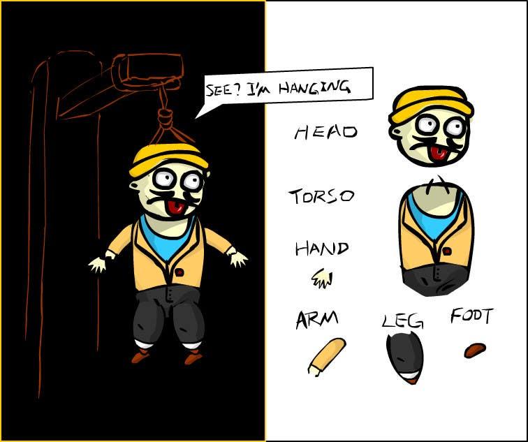 Penyertaan Peraduan #5 untuk I need some Graphic Design for a Hangman Game I am developing
