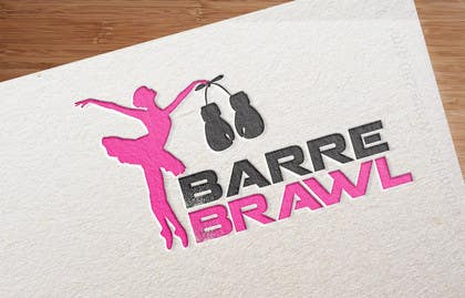 Nro 12 kilpailuun Design a Logo for Barre Brawl käyttäjältä KremMtv