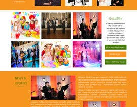 #5 para Design a Website Mockup for Entertainment Industry por ravinderss2014