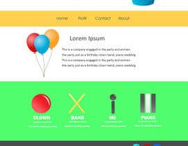#2 untuk Design a Website Mockup for Entertainment Industry oleh RikoSaptoDimo