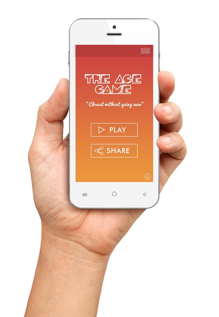 Konkurrenceindlæg #                                        5                                      for                                         Design an App Mockup for Age Game