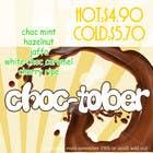 Graphic Design Конкурсная работа №65 для Poster Design for a Chocolate promotion