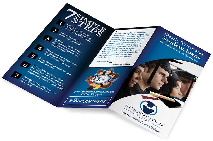 Bài tham dự cuộc thi #                                        22                                      cho                                         Create a Brochure Student Loan Relief, Inc