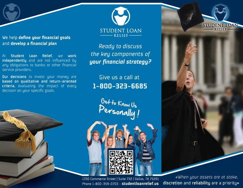 Bài tham dự cuộc thi #                                        19                                      cho                                         Create a Brochure Student Loan Relief, Inc