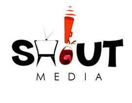 Nro 65 kilpailuun Design a Logo for ShoutMedia käyttäjältä shwetharamnath