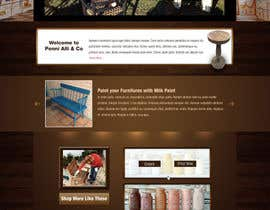 #1 para Create a Custom, classy and antique looking Wordpress Template por greenarrowinfo