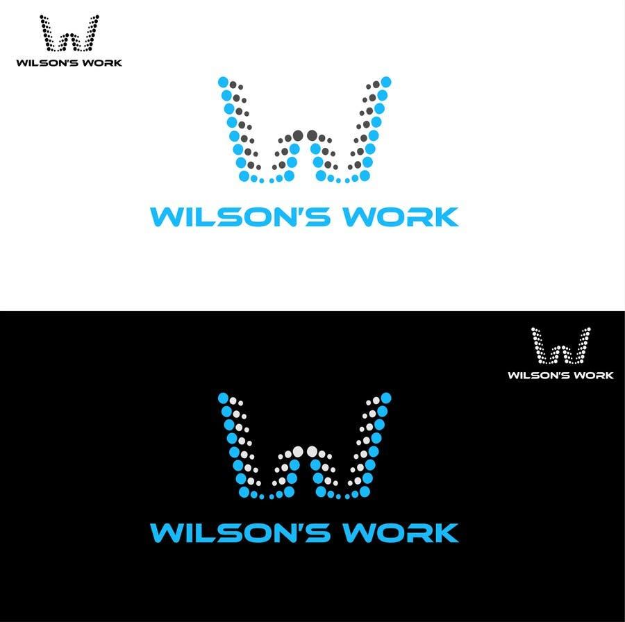 """Penyertaan Peraduan #65 untuk Design a logo for """"WILSON's WORK"""""""