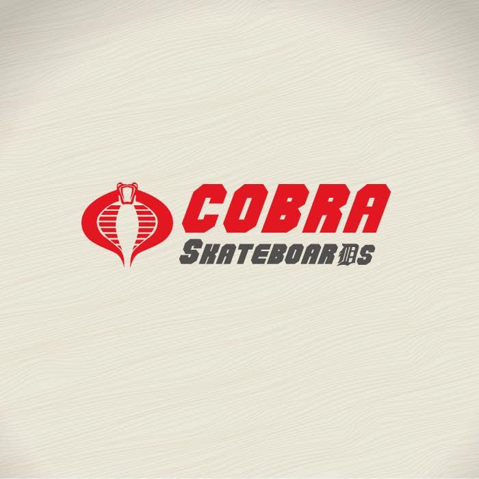 Konkurrenceindlæg #3 for Design a Logo for Cobra Skateboards